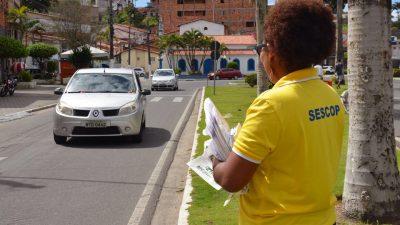 Mobilização na orla marítima fez alusão ao Dia da Limpeza Urbana