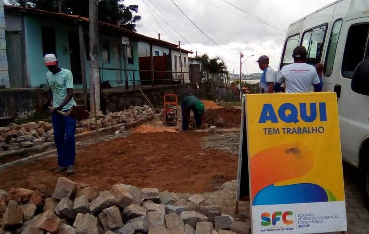SFC: O trabalho da Secretaria de Serviços, Conservação e Ordem Pública não para!