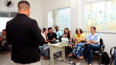 Oficina promovida pela SEDEC orientou cidadãos que buscam inserção profissional no Mercado de Trabalho