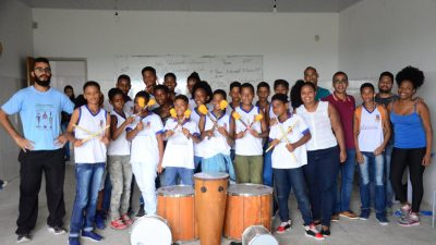 Semana da Juventude leva oficinas de Grafite, Musicalização, Jogos Teatrais e Percussãopara jovens franciscanos