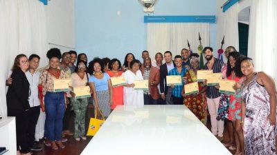 Membros do Conselho Municipal de Promoção da Igualdade Racial de São Francisco do Conde foram empossados nesta quinta-feira (27)