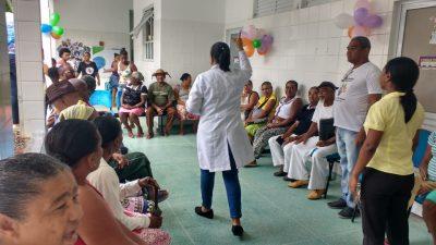 Ações de promoção à saúde e prevenção aconteceram nas Unidades de Saúde da Família e CRESAM