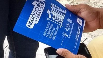 """SEDEC: Comerciantes de São Francisco do Conde receberam orientações gratuitas com Programa """"Negócio a Negócio"""""""