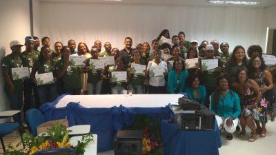 Em cerimônia emocionante na SEDUC, Multiplicadores em Meio ambiente são certificados