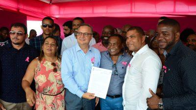 Prefeitura assinou Termo de Compromisso para Ampliação e Adequação da Policlínica Regional de Saúde, em solo franciscano