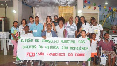 SDHCJ: Eleição para o Conselho Municipal dos Direitos da Pessoa com Deficiência mobilizou a sociedade franciscana nesta quarta-feira (17)