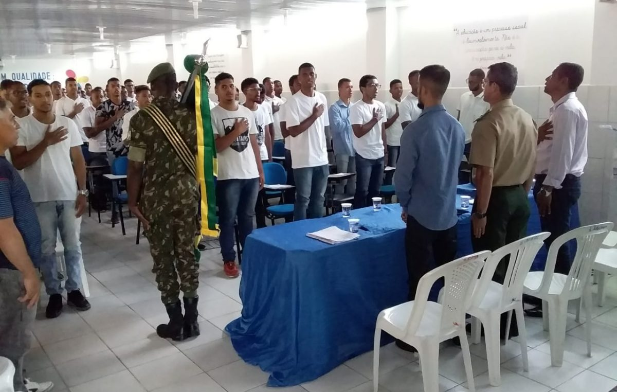 Mais de 200 jovens franciscanos receberam Certificado de Dispensa de Incorporação (CDI) do Serviço Militar