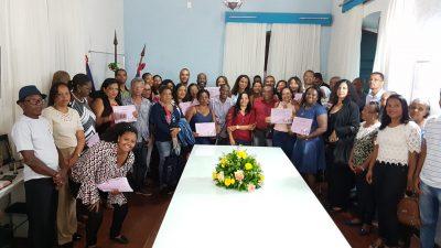 Membros do Conselho Municipal da Pessoa Idosa foram empossados