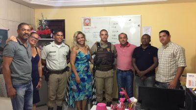SETUR e SESCOP realizaram reunião com o Comando da Polícia Militar para alinhamento do Calendário Oficial de Eventos do Município