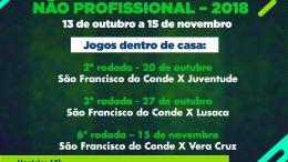 Equipe franciscana entra em campo neste sábado (20) pela 2ª rodada doCampeonato Baiano de Futebol Feminino Não Profissional