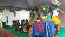 Famílias franciscanas participaram ativamente das apresentações no primeiro dia do Voartear II