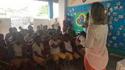 """Resíduos sólidos e sustentabilidade"" é tema de Ciclo de Palestras na rede municipal de ensino"
