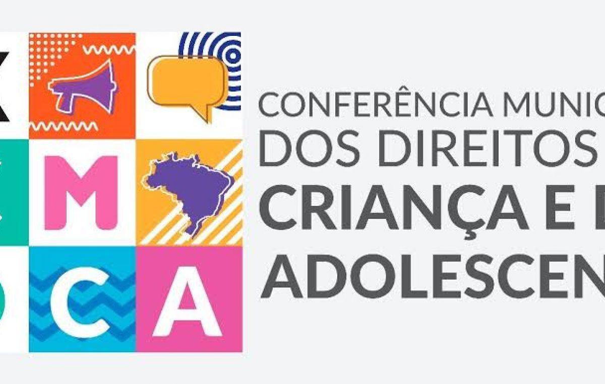 Pré-conferências do Conselho Municipal dos Direitos da Criança e do Adolescente acontecem a partir do dia 13 de novembro