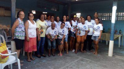 Projeto Cultura em Movimento: Oficina de Crochê realizada no Caípe de Baixo beneficiou mulheres franciscanas