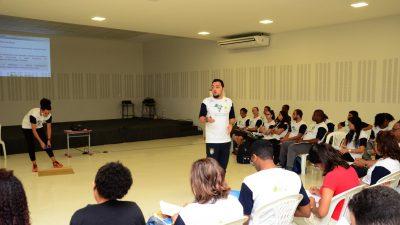 Coordenadores, professores e gestores das unidades de ensino de São Francisco do Conde participaram do II Encontro Formativo do Projeto Rede de Parceiros Multiplicadores de Esporte Educacional