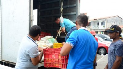 SEMAP realiza novamente entregas de alimentos da agricultura familiar às famílias assistidas pelo CRAS
