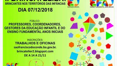 SEDUC abre inscrições para formação do Brincatelier