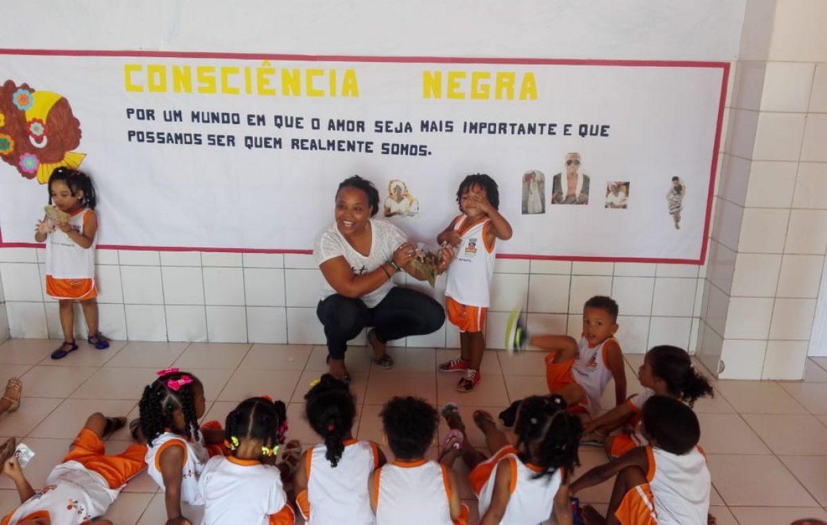 Dia da Consciência Negra é celebrado nas creches e escolas do município
