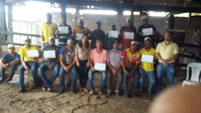 Criadores do município passaram por Curso de Doma de Cavalos