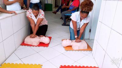 Curso RCP para Todos aconteceu em Paramirim