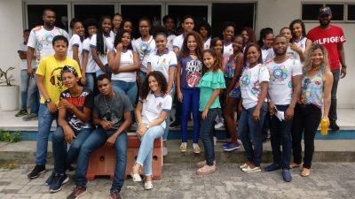 Estudantes franciscanos participam da Semana Nacional de Ciência e Tecnologia do Instituto Federal da Bahia, em Santo Amaro