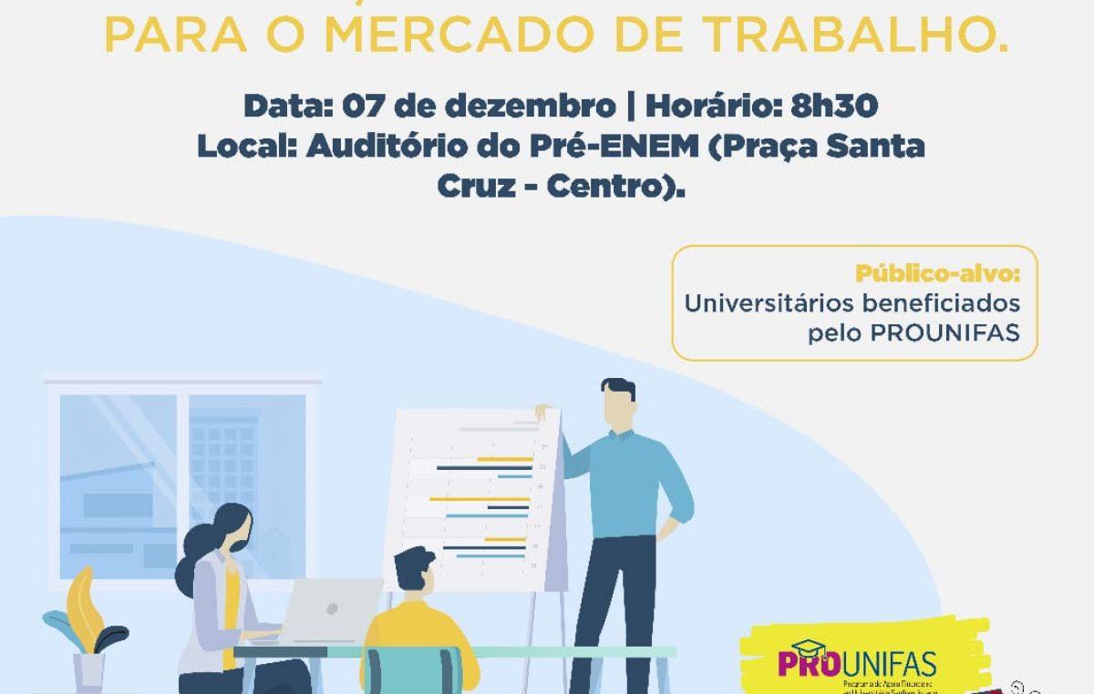 Secretaria da Educação realizará o I Workshop – Transição da Universidade para o Mercado de Trabalho