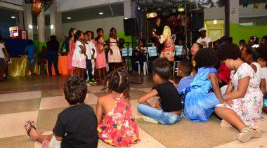 Festa retrô animou os beneficiários atendidos pelo CRAS da Sede