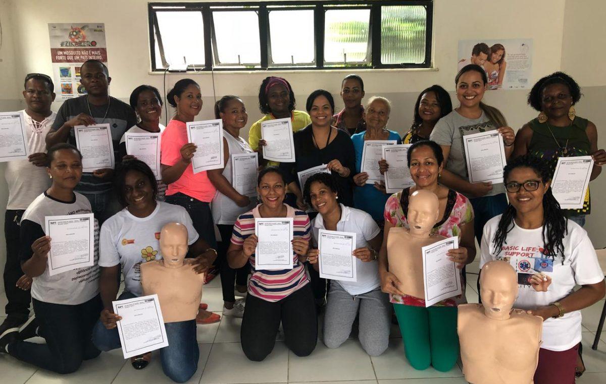 Retrospectiva da Saúde 2018: SESAU capacitou cerca de 260 pessoas em reanimação cardiopulmonar (RCP) no município