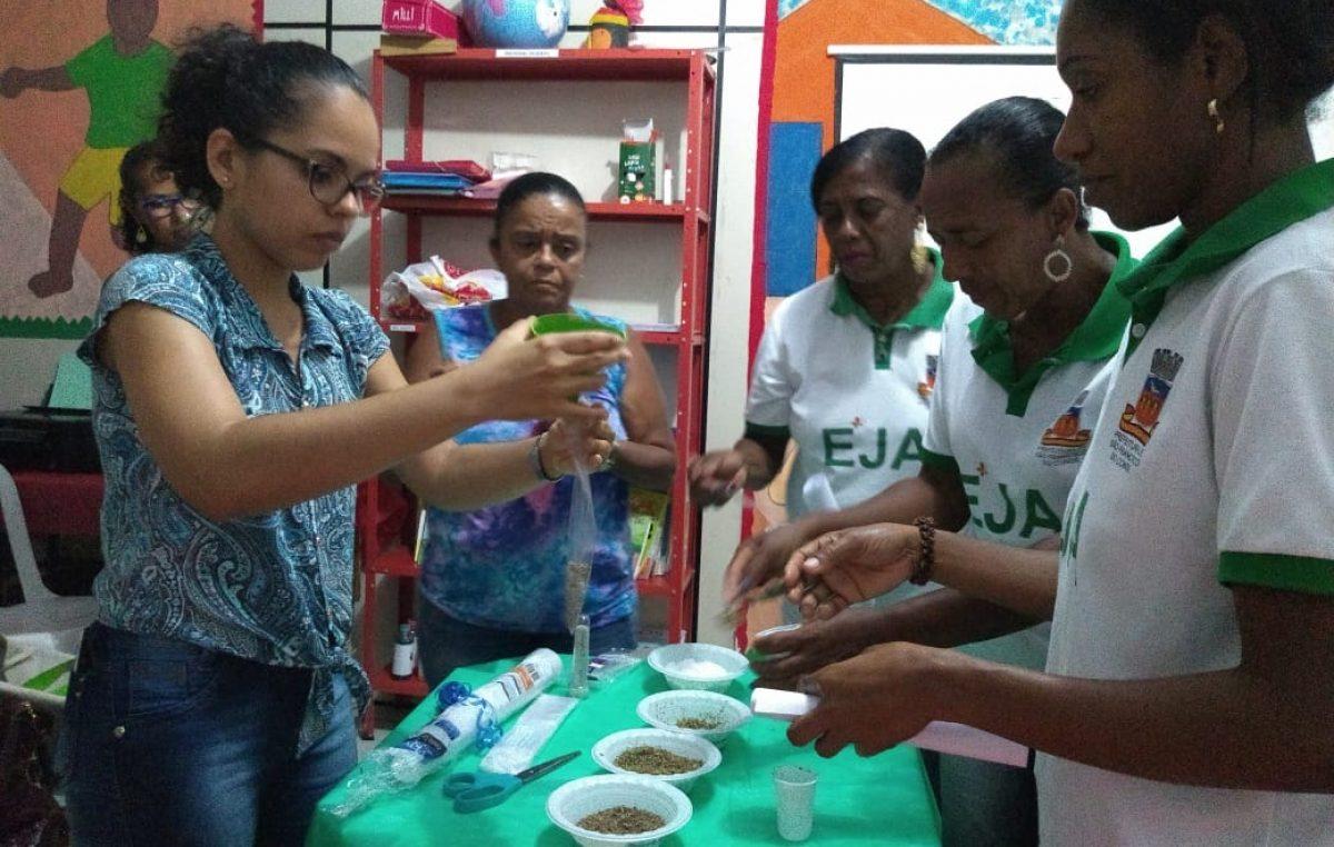 SEDUC realiza ação de Educação Alimentar e Nutricional com os alunos da EJA
