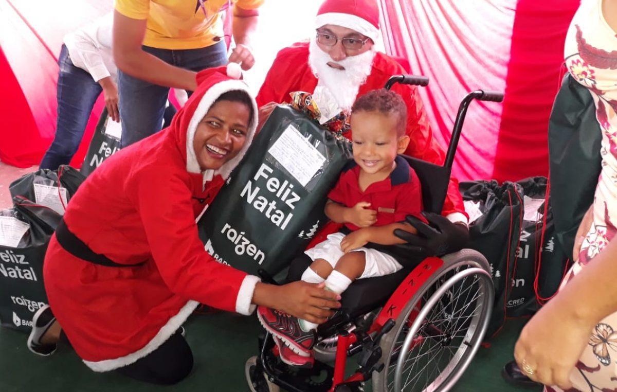 O Natal chegou na Creche Municipal do Caípe