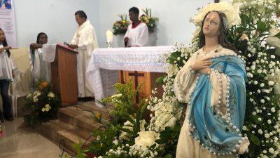 Fé, emoção e devoção marcaram as homenagens a Nossa Senhora da Conceição da Praia em São Francisco do Conde