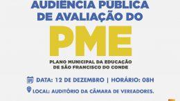 Audiência pública de avaliação do Plano Municipal de Educação de São Francisco do Conde será realizada na quarta-feira (12)