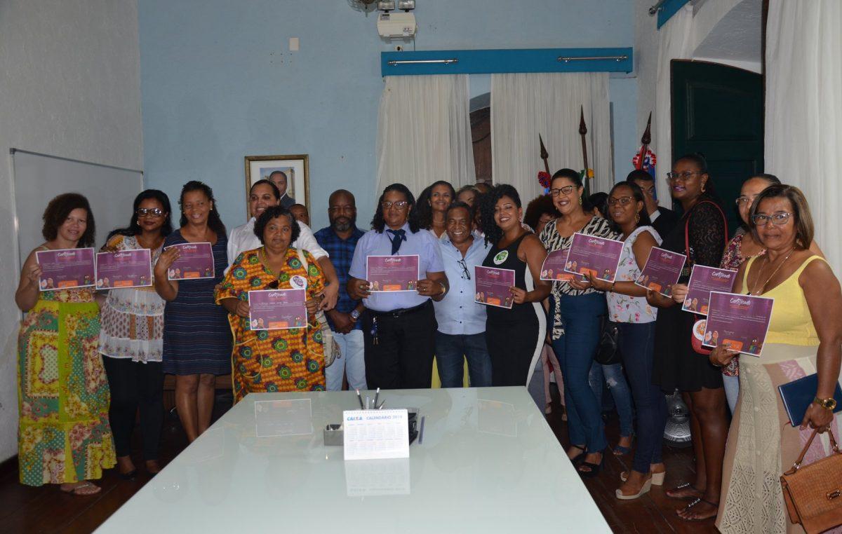 Prefeito empossa representantesdo ConselhoMunicipal de Direitos da Mulher