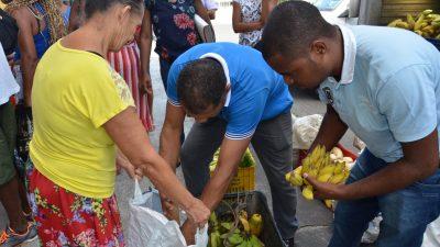 SEMAP: Prefeitura de São Francisco do conde realizou mais uma entrega de alimentos da agricultura familiar