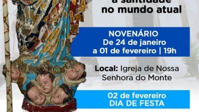 Novenário de Nossa Senhora do Monte segue acontecendo até o dia 01 de fevereiro