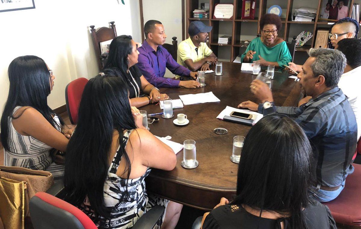 Secretários municipais de São Francisco do Conde se reuniram com representantes do Governo do Estado para tratar sobre ações referentes à cultura local