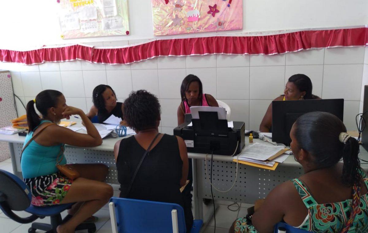 Primeiro dia de matrículas na Rede Municipal de Ensino é marcado pela tranquilidade