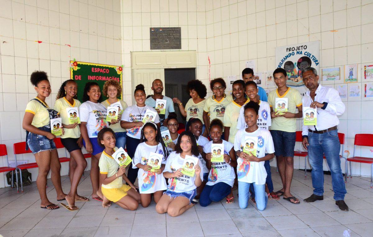 """Emoção e reconhecimento marcaram o lançamento do livro """"São Bento – Conversando com sua História, do Projeto """"Trilhando na Cultura"""""""