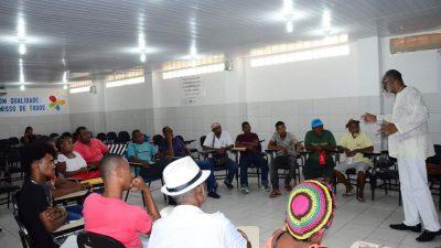 SECULT realizou Capacitação para as Lideranças Carnavalescas e Agentes Culturais do município