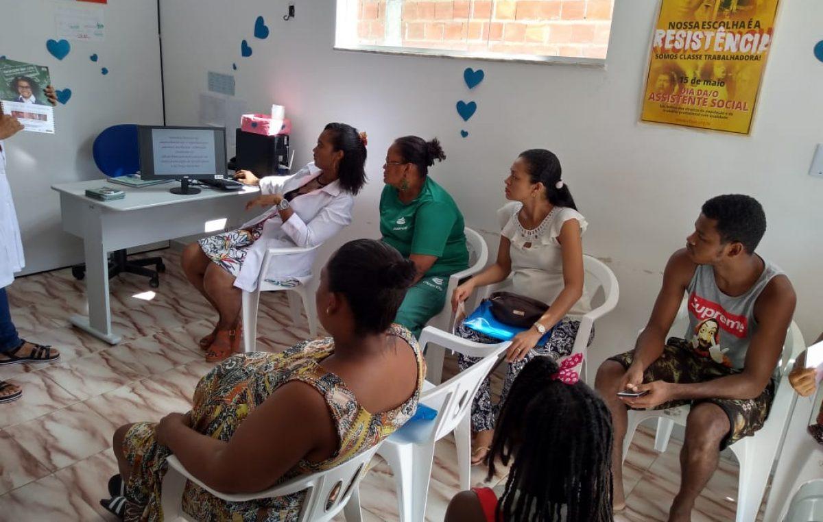 Janeiro Branco: Agenda da saúde propôs temas para atividades nas Unidades de Saúde da Família