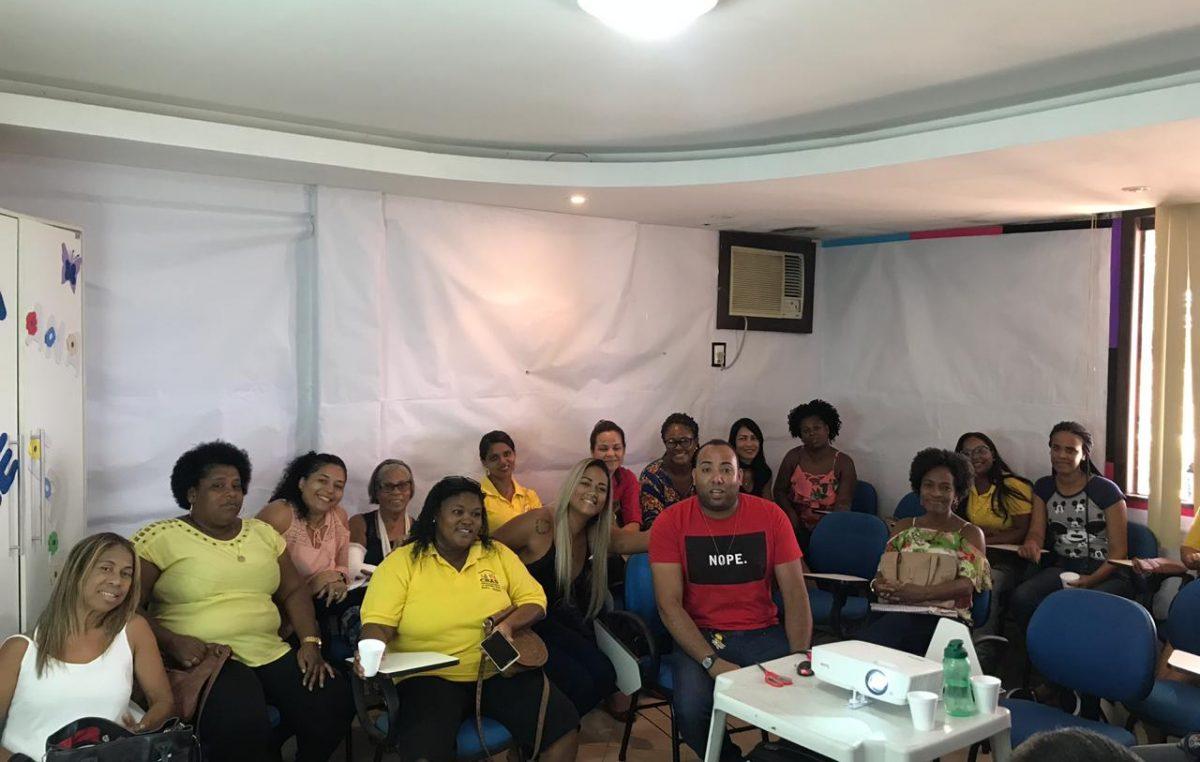 Equipe técnica da Assistência Social participa de Capacitação Previdenciária