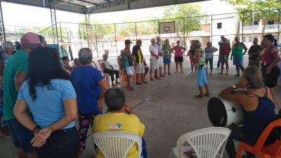 SCFV IDOSO realiza ações de descentralização nos bairros