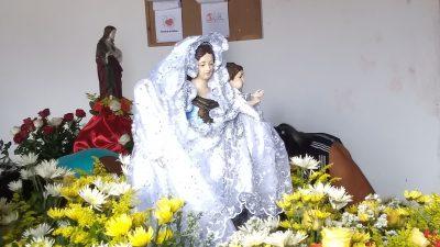 Missa e procissão marcaram o fim do Novenário em honra a Nossa Senhora do Monte
