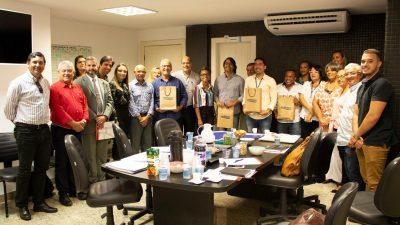 Prefeito Evandro Almeida participou da 1ª Assembleia Geral Ordinária do Consórcio SOMAR