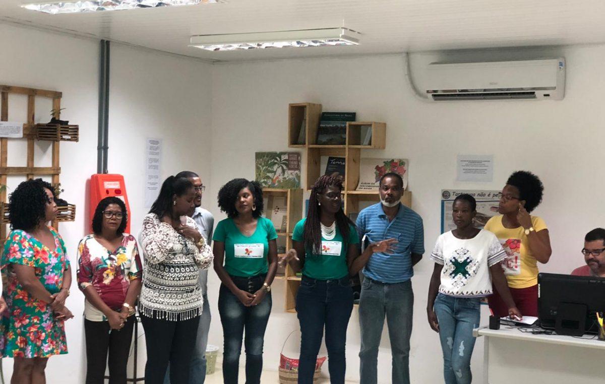 Sala Verde da SEDUC recebe visita técnica da Secretaria do Meio Ambiente do Estado