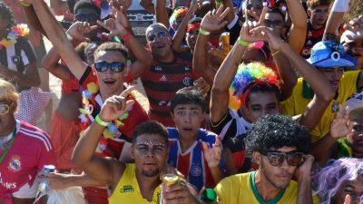 O sábado (02) de Carnaval Cultural em São Francisco do Conde foi pura alegria.