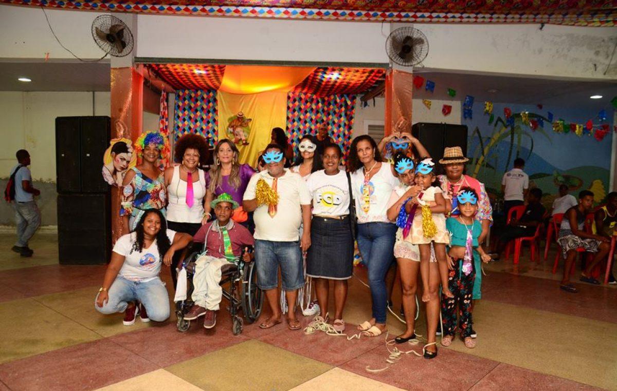 Grandes inciativas de inclusão social e muita animação marcaram o terceiro dia do Carnaval