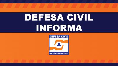 Defesa Civil informa: Sistema de telefonia e internet da unidade foram interrompidos temporariamente