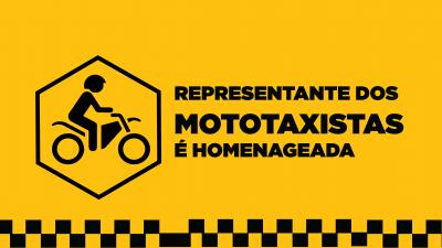 Representante dos mototaxistas é homenageada com Medalha de Honra ao Mérito por Câmara de Salvador