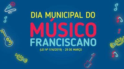 Dia do Músico Franciscano será celebrado com vasta programação